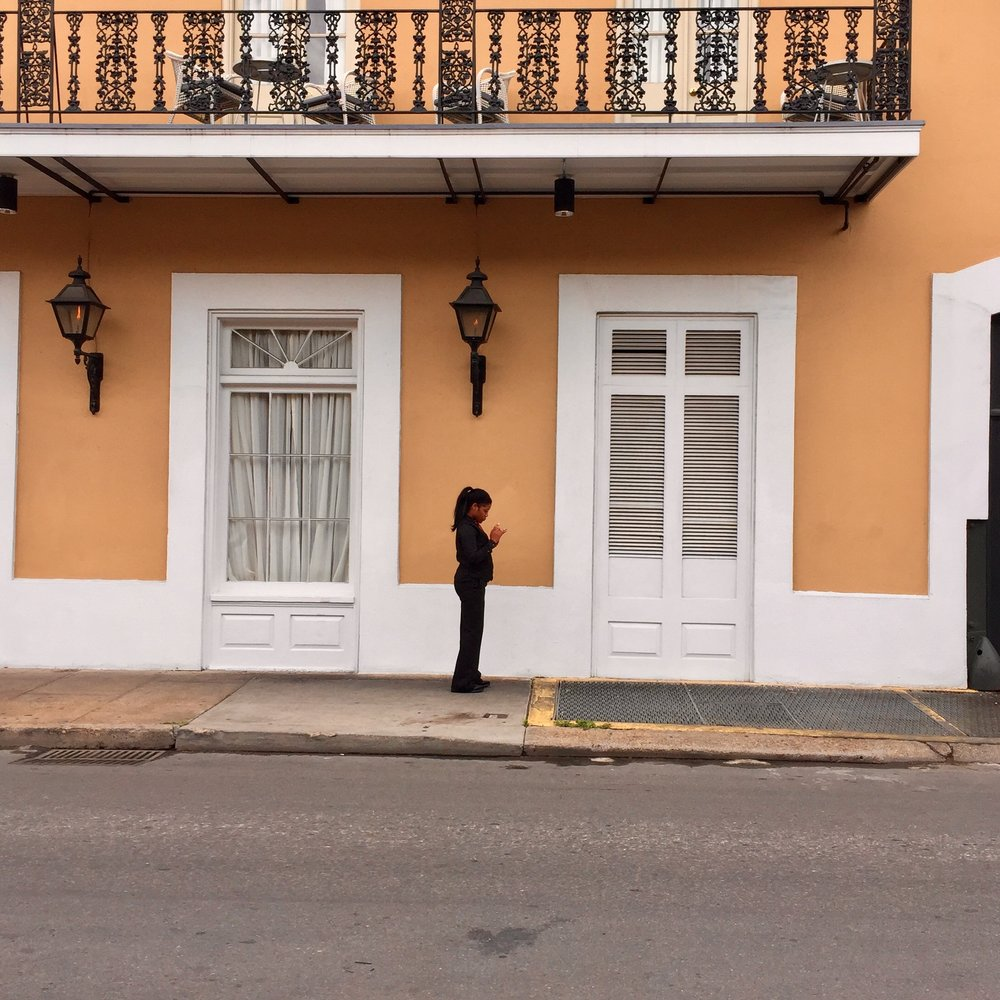Woman in the French Quarter