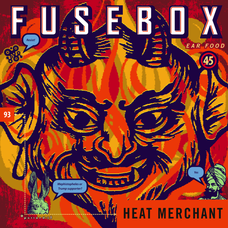 Fusebox (podcast) - character sketch