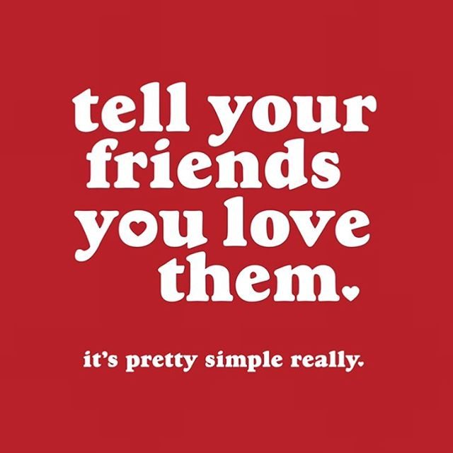 Sending love out to our wonderful community that we know is hurting and broken-hearted. Look after your friends on sad days like yesterday, today and all the days coming. Love you all. ❤️❤️❤️❤️❤️❤️❤️ Tell Your Friends You Love Them. #tellyourfriendsyoulovethem