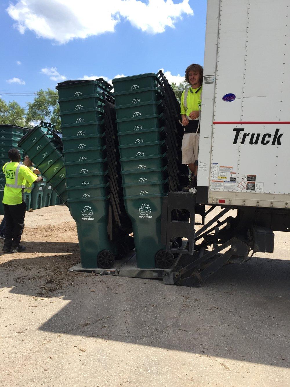 Loading Carts