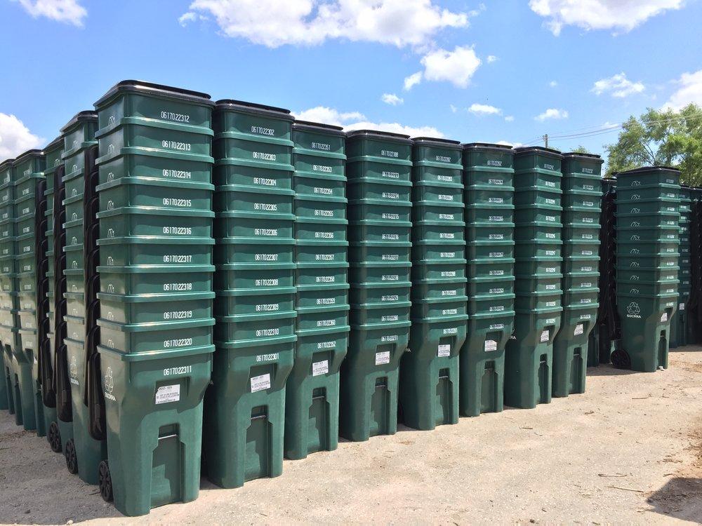 Cart Storage in Ferndale