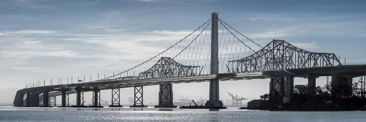 Old Bridge, New Bridge - Oakland Bay Bridge