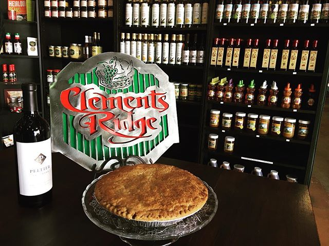 Happy Easter Week. Don't forget we are closed Sundays, so order your Easter pie today for Saturday pickup. #pie #Easter #AppleCrumbPie #Peltierwine #honey #oliveoil #maggiesmustard