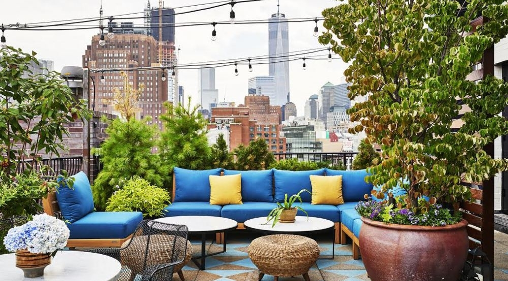 A60 is an exclusive rooftop terrace and bar that stands as the most stylish event space in SoHo. At A60, the Manhattan skyline provides a dramatic backdrop for special events.
