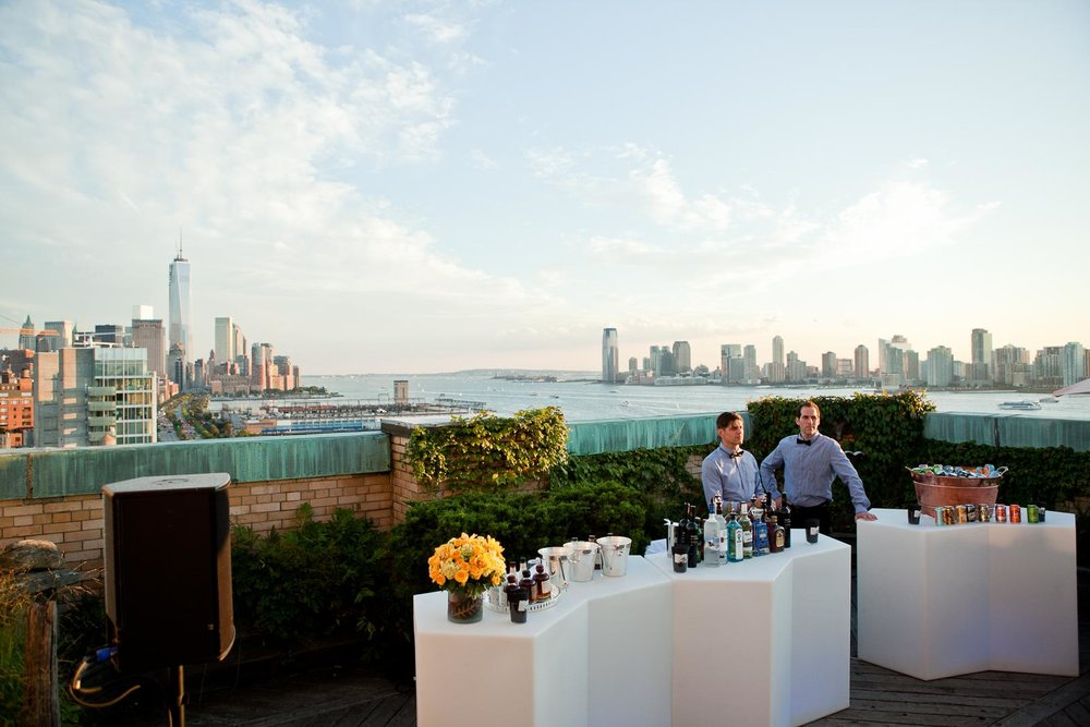 Ramscale Studio  is a spacious loft and studio located in New York's West Village that overlooks the Hudson River. An entirely raw event space with Attached is a large outdoor garden terrace with views of the Hudson River and all of Lower Manhattan