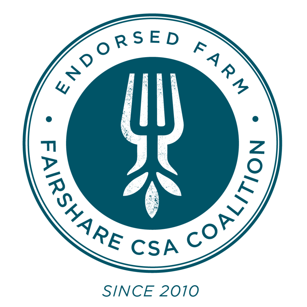 - Our farm has been endorsed by the FairShare CSA Coalition since 2010!
