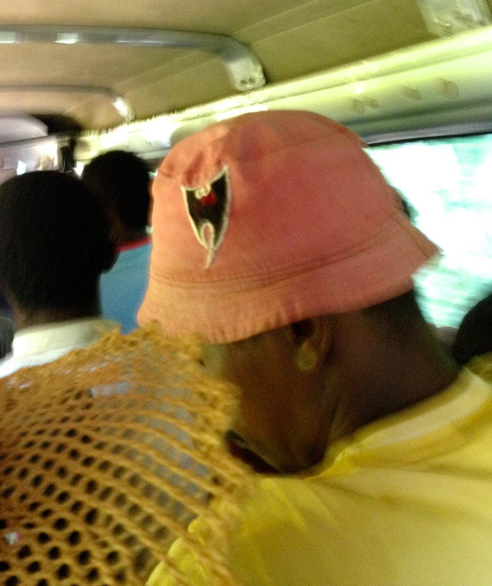 The Wu-Tang bucket hat spotted on a taxi-brousse to Mananjary (excuse the blurriness!).