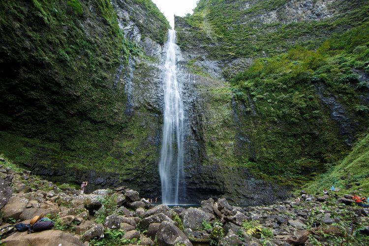Αποτέλεσμα εικόνας για Hanakapiai Falls – Kauai, Χαβάη