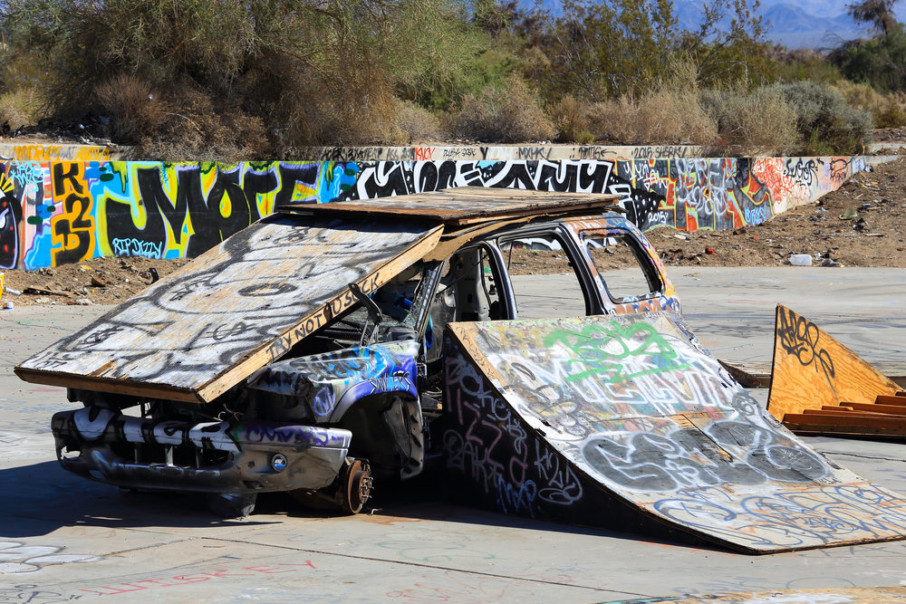 What a great car recycling idea.