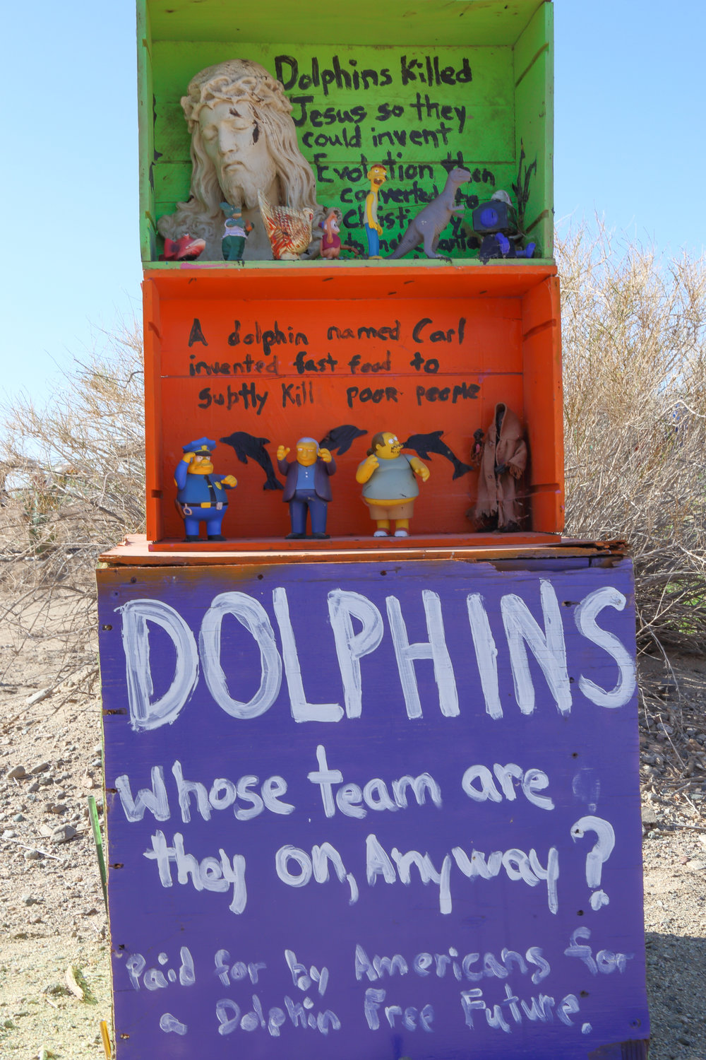 The dolphin conspiracy. Who knew?
