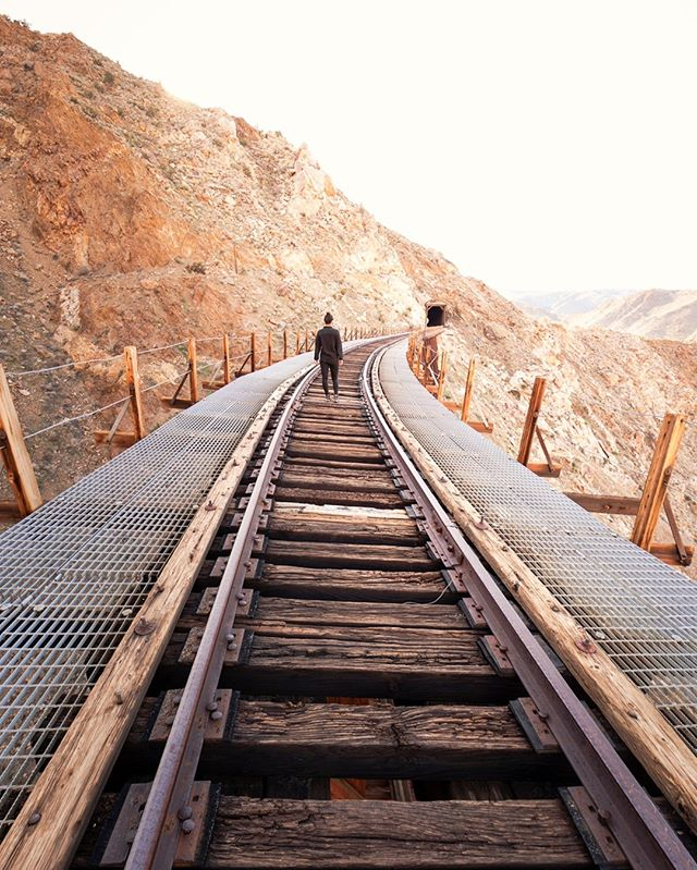 What a day!  It began with some unexpected off-roading through the desert that borders Mexico and California, climbing over a mountain range, then descending down a rock-filled ravine to get up close and personal with this epic wooden trestle bridge.  A crazy adventure, but well worth the effort!  A shout out to @lenayim and all my other friends who are willing to go on these hair-brained adventures with me.  You the real MVPs! . . . . . #KelsieDiPernaPhoto #VisitCalifornia #TheGreatOutdoors #WomenWhoHike #SpeechlessPlaces #FindItLiveIt #FolkGreen #RoamEarth #WonderMore #ExploreOurEarth #TheOutbound #EarthOutdoors #WildernessCulture #StayAndWander #FolkScenery #RoamThePlanet #LifeOfAdventure #DepthsOfEarth #ExploreToCreate #VisualLife #CreateExplore #WomenWhoExplore #SheExplores #OutdoorWomen #TravelAwesome #GlobalCapture #NatGeoAdventure #WanderTheWorld #AGameOf10k #TheImaged