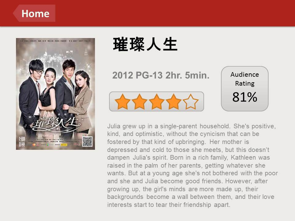 """Chinese Netflix"" experiment shows opportunities to guide viewers' decisions.  →"