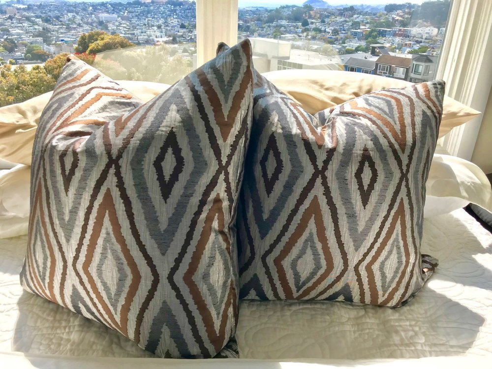 Lux Pillowsby Carole Soffer Design - COMING SOON