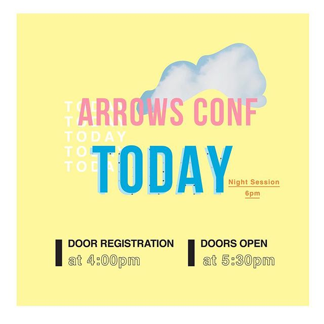 Thanks everyone who has ALREADY registered 👊 if you HAVEN'T registered yet follow the link in bio OR Register at the Door. SEE YOU SOON! -Arrows Team