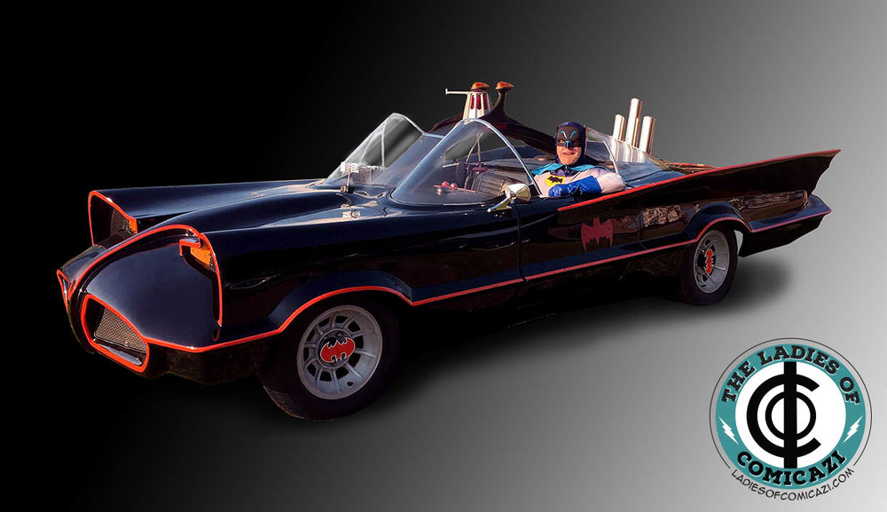 '66 Batman and Batmoblie - Take pictures with and even sit in the '66 Batmobile. Available from 11a-4p (VIP access only at 11, regular Con goers at noon)