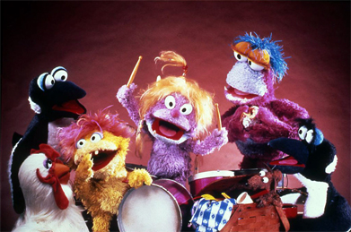 The main cast of Little Muppet Monsters