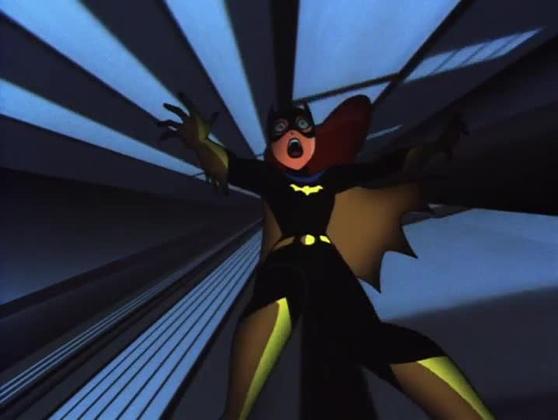 Batgirl falls to her death Over The Edge The New Batman Adevtnures