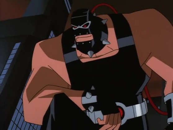 Bane from Over The Edge The New Batman Adventures