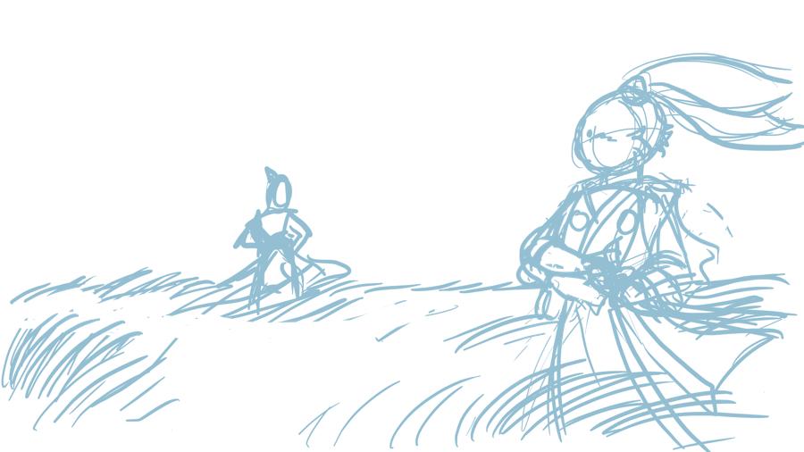 usagi-sketch