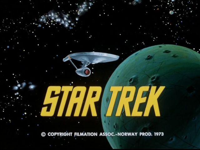 Star Trek animated series title card