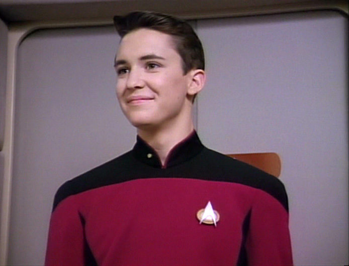 Wesley Crusher Mary Sue