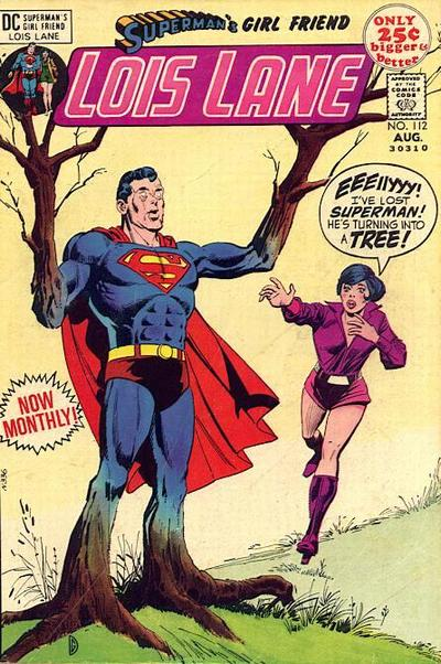 "Those ""Superman's Girlfriend"" plots were wacky as heck."