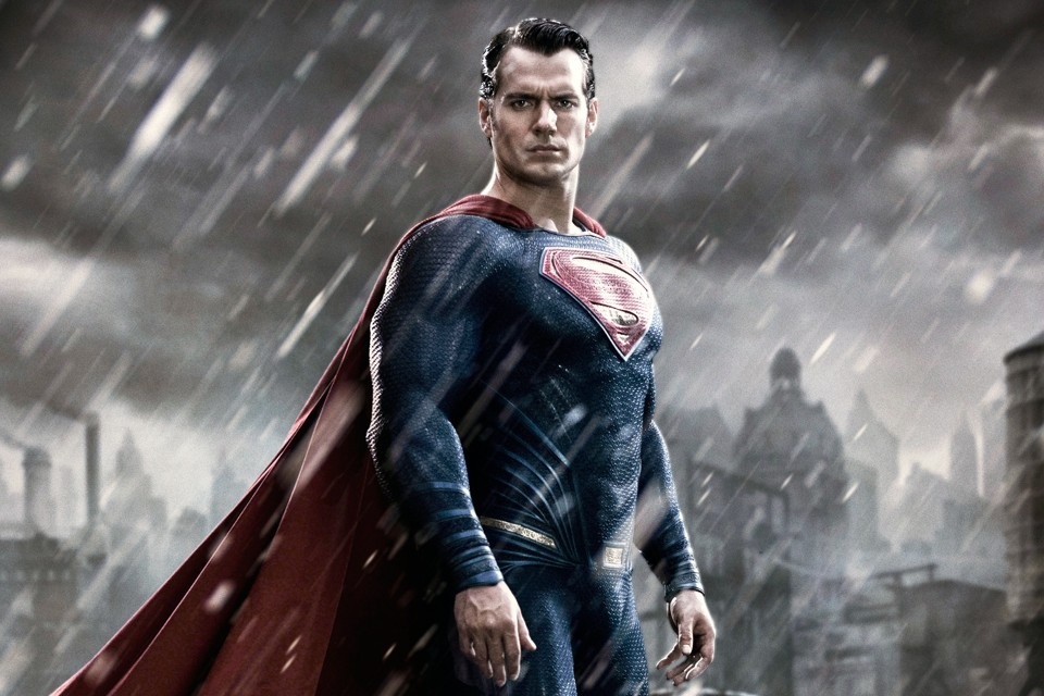 What is Superman looking at?