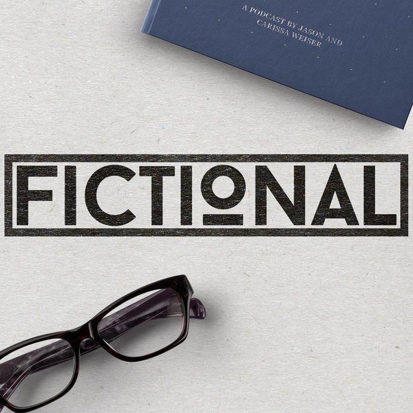 Fictional podcast logo