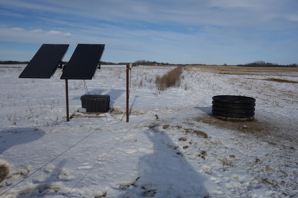 Solar Winter Water System