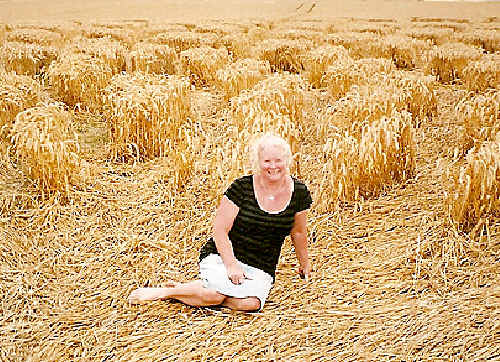 Megan Heazlewood - Crop Circles – A true enigma