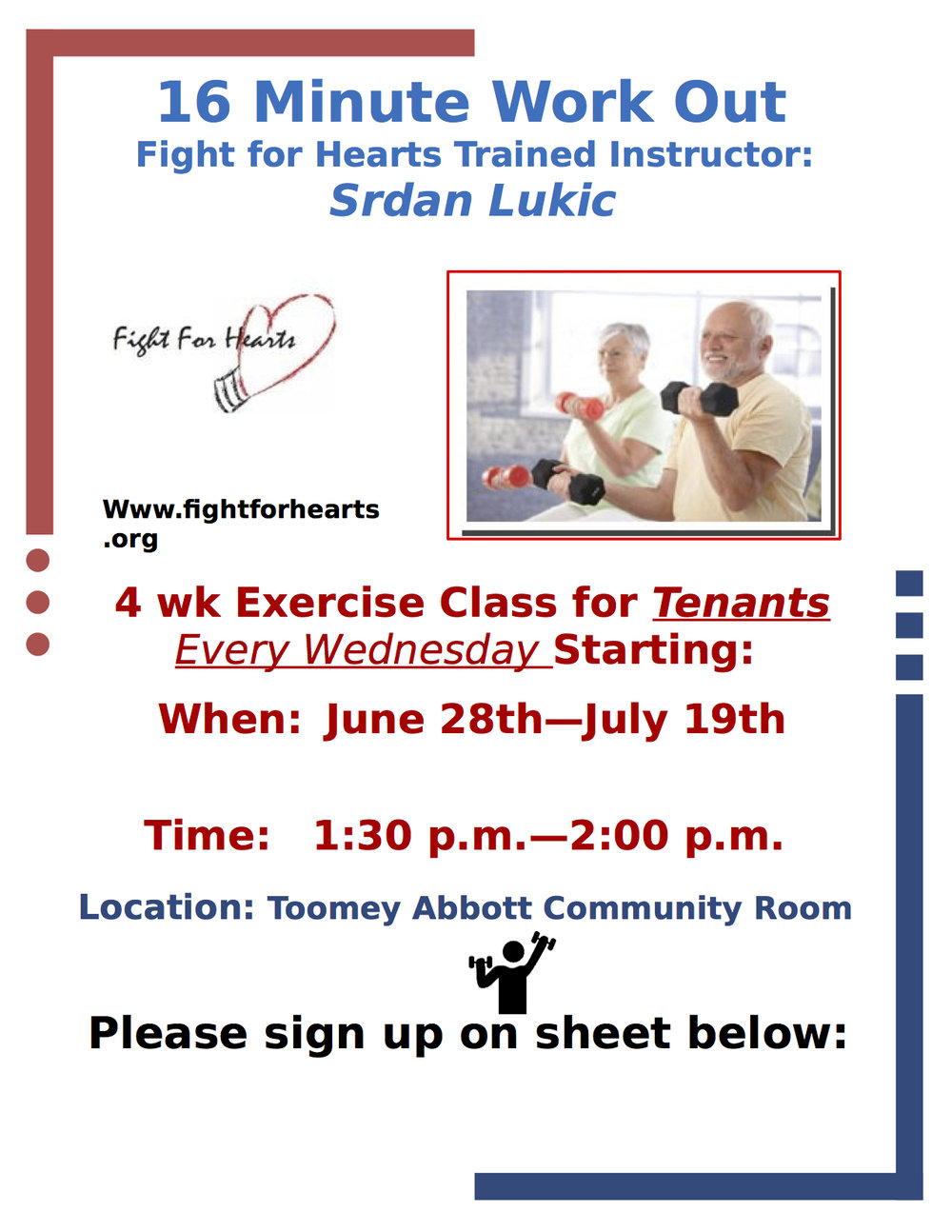 Senior Chair Workout  sc 1 st  Fight For Hearts & Senior Chair Workout u2014 Fight For Hearts
