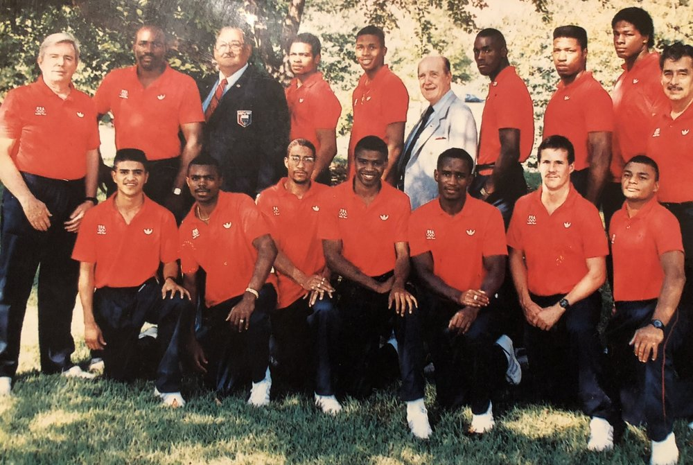 1988 USA Boxing Olympic Team. (3 Gold, 3 Silver, 2 Bronze)