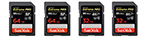 Sandisk Extreme Pro 2x64GB + 2x32GB