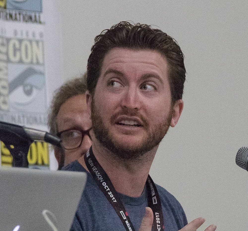 Jeremy speaking at comic-con, san diego -