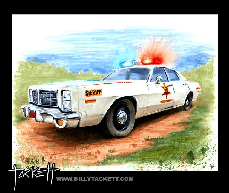 ROSCOE P. COLETRANE'S SQUAD CAR