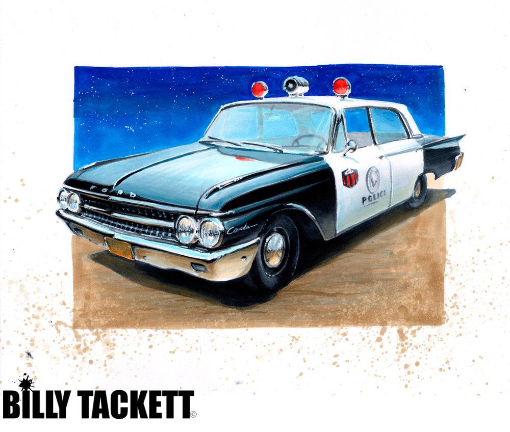 '61 FORD GALAXIE SQUAD CAR