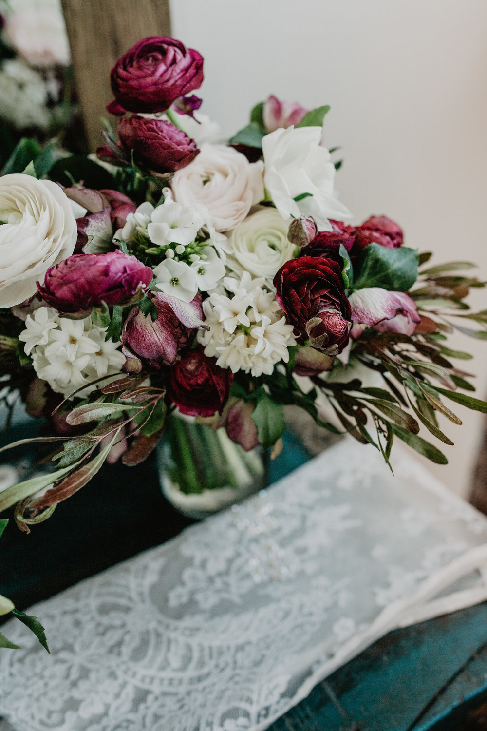 Grounded Plant and Floral Wedding Indianapolis