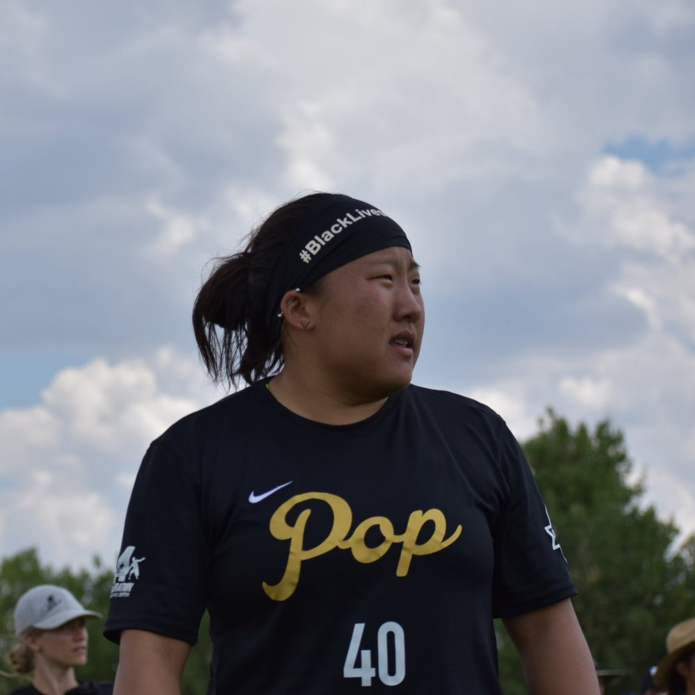 Chip Chang, plays for  Minnesota Pop . (Laurel Oldershaw)