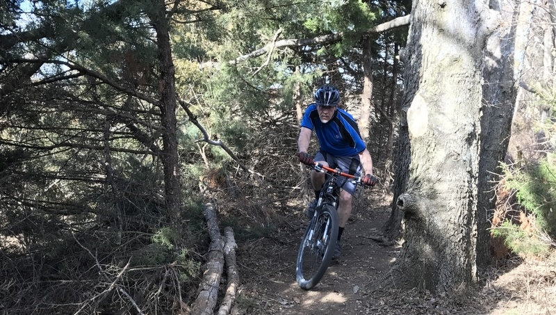 North Santa Fe Lake - 5.7 additional miles of trail were added in 2017.  The north section is similar to Miller's Meadow and should thrill new riders and seasoned alike. Required Park Fees:   $6 day use, $40 yearly pass.