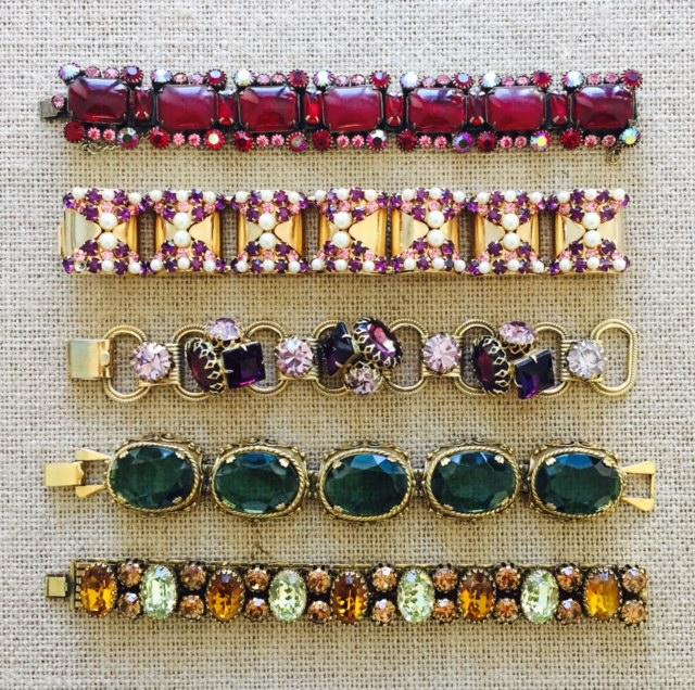 Vintage Bracelets from the 1950's & 60's