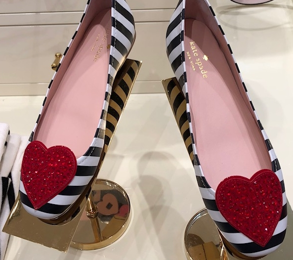 A little bit of red heart loving from Kate Spade