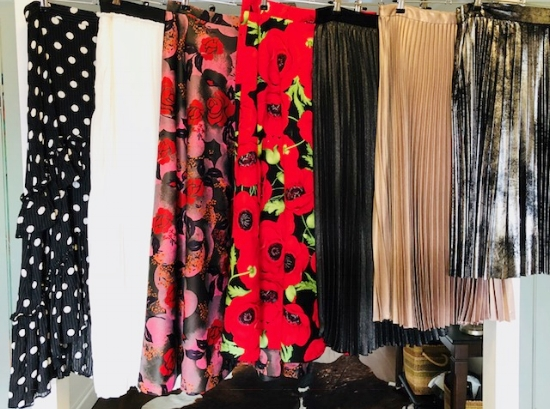 Some of my favourite skirts.