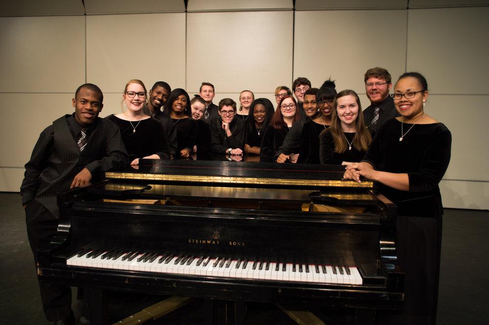 Wesleyan Choirs 2016-2018