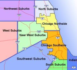 Proudly Serving Chicagoland - Including: Chicago Loop, Southside and Northside. Suburbs North, Northwest,Near West, West,South and Southwest. Indiana Northwest.