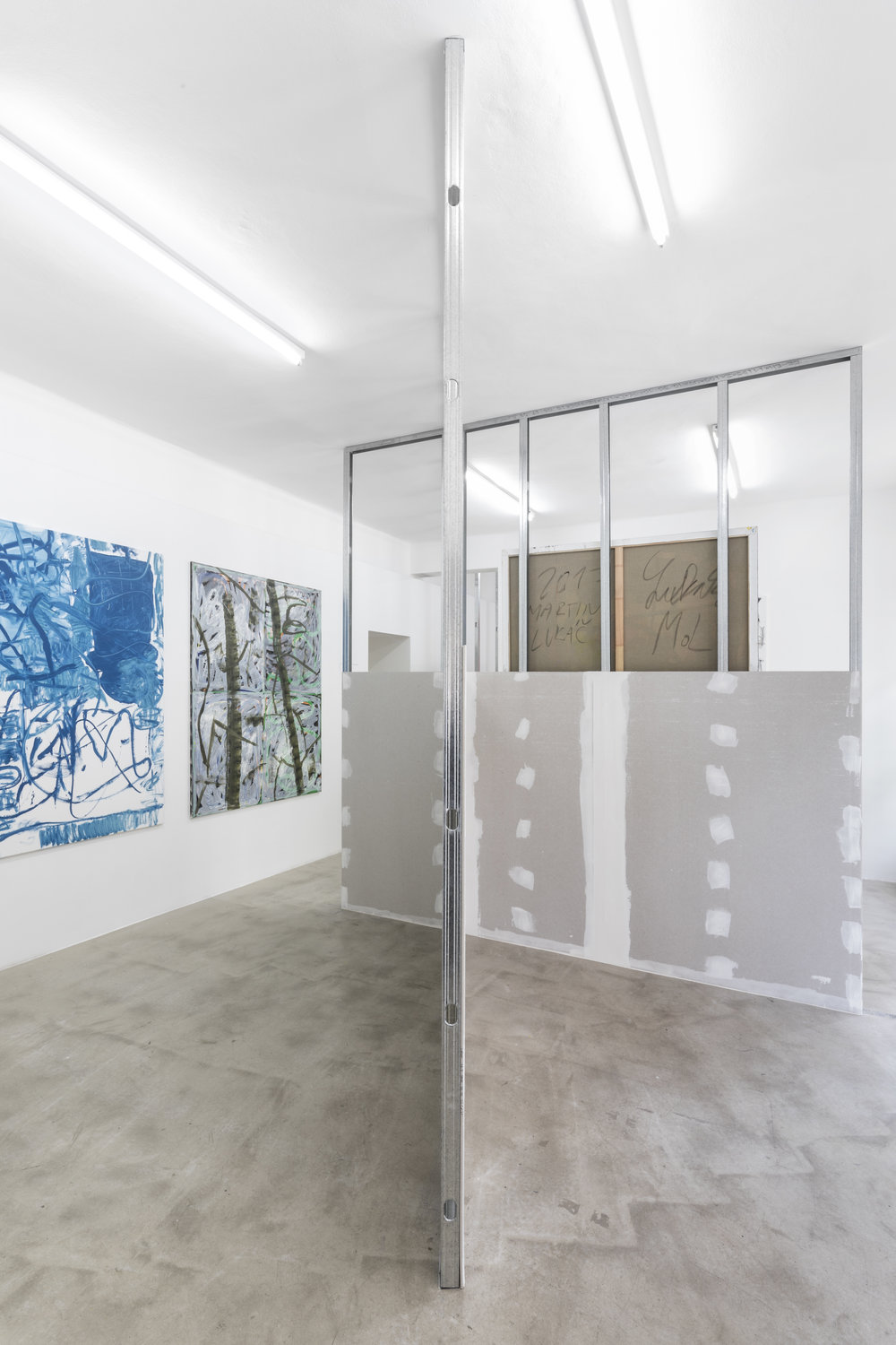 Martin Lukáč and Anu Vahtra at Lucie Drdova Gallery curated by Piotr Sikora