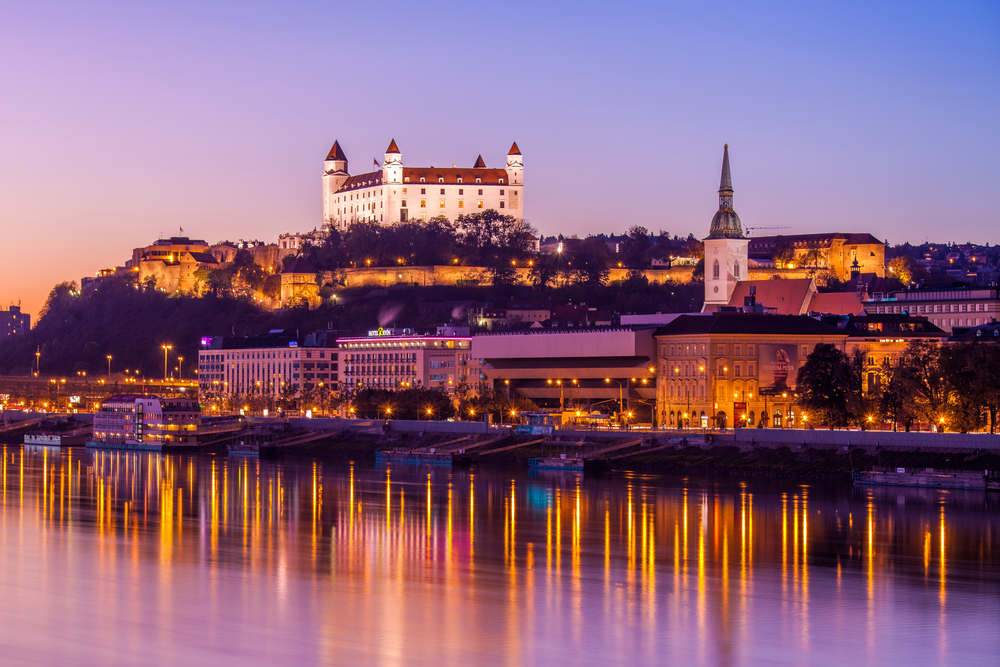 2. Bratislava, Slovakia - Enjoy an unpretentious and hectic street party in a medieval square