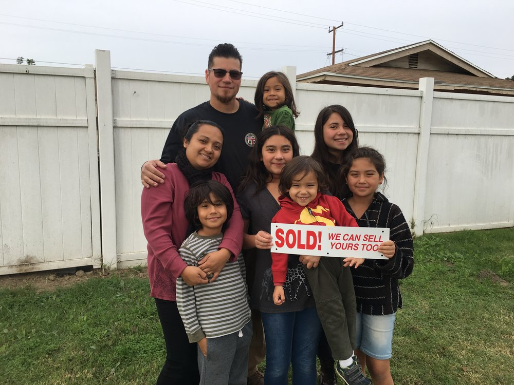 The Matamoros Family - Congratulations to Joelle & the Matamoros family on their hard work to achieve the dream of homeownership!