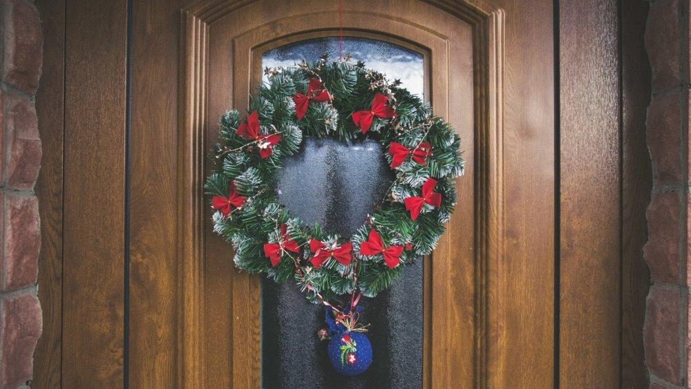 holiday wreath on door.jpg