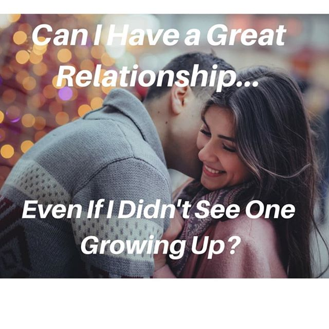 Just because you didn't see a great relationship, or grow up watching the ideal relationship in your family doesn't mean you can't create that now. In fact, it may have even inspired you to have an even better one, as it did me. Read more about how you can have a better relationship than the one you saw as a kid.  Create The Love You Want ❤️ in your life now!  Link in Bio.