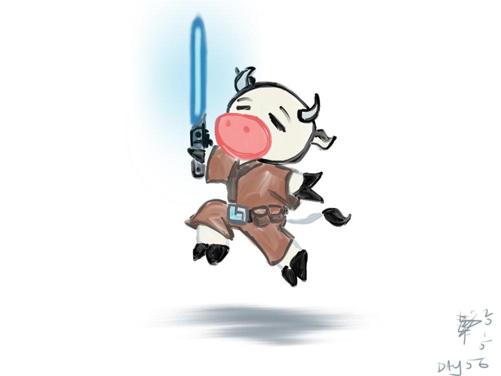 056 Master Jedi Bovinicus Froliticus.jpg
